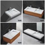 Artificial Stone Small Bathroom Cabinet Basin