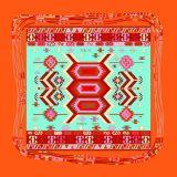 Fashion Beautiful Digital Printing 100% Silk Fabric Women′ Scarf (F13-0005)