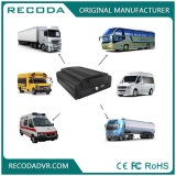 Recoda Hard Disk SD Card 4 CH 1080P Resolution with 3G 4G GPS and WiFi Optional Ahd Hybrid Mobile Vehicle DVR