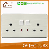 UK Standard Electrical Wall Switch Electric Switch Socket