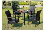 Stylish Outdoor Rattan Table and Chair