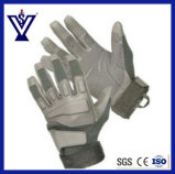 Military Tactical Gear Leather Full-Finger Gloves (SYSG-246)