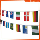 Rectangle Small National Flags for Sports Events with Good Price