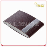 Promotional Creative Design Double Open Leather Card Holder