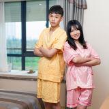 Sweet Leisure Wear Carbon Pajamas Suit