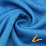 Knitted Polyester Spandex Lycra Elastic Fabric for Sportswear Fitness (LTT-2025# BLUE)