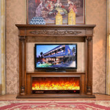 Home Furniture TV Stand sculpture MDF European Electrical Fireplace (326B)