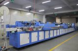 Multicolors Roll to Roll Satin Labels Screen Printing Machine