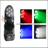 7X10W Mini LED Moving Head Disco Wash Light