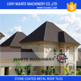 Various Designs Galvalume Steel Sheet Stone Coated Metal Roof Tiles