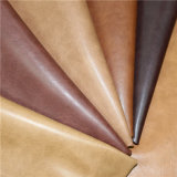 Top Quality PU Artificial Leather for Shoes, Bags, Furniture, Upholstery