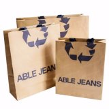 Recycle Eco-Friendly Packaging Packing Carrier Paper Bag