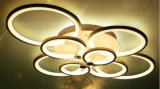 Remote Control Living Room Bedroom Modern Acrylic LED Ceiling Lights