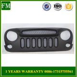 New Vertical Matte Black Ghost Grille for Jeep Wrangler 2007-2015