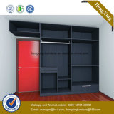 Factory Price Bedroom Furniture Wardrobe Wooden Closet (HX-LC2098)