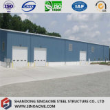 Prefab Steel Construction / Portal Frame Industrial Building From Sinoacme