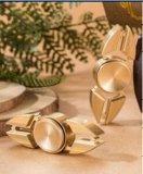 Two Angle Copper Brass Fingertips Gyro Fidget Spinner