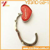 Hot Selling Heart Shape Purse Hook with Logo
