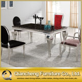 Modern Marble Top Dining Table Set