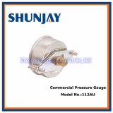 Commercial Pressure Gauge with U-Clamp