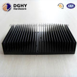 China Manufacture Aluminum Folded Fin Heat Sink with Special Design