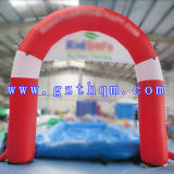 Inflatable Rainbow Arch/Oxford Inflatable Arch/Inflatable Start Finish Arch for Racing