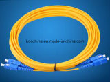 Sc-Sc Sm Dx 2.0mm G652D Fiber Optic Patch Cord