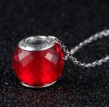 925 Sterling Silver Murano Glass Essence Necklace Pendant