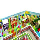 Pink Theme Park Children Playground Equipment Indoor
