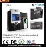 "Zk Iclock880 Multi-Media WiFi/GPRS 3.5"" TFT Fingerprint Time Attendance and Access Control Terminal"