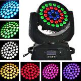 36PCS 12W RGBW 4 in 1 Zoom Moving Head Wash Light