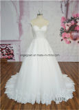A-Line Illusion Back New Arrival Lace Wedding Dress