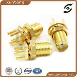 RF Coaxial Connector SMA Male PCB Mount Straight Hot Sale