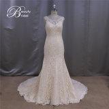Superb Quality Beading Fit Bodice Princess Wedding Dress