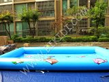 High Quality Inflatable Pool with Tent, Inflatable Swimming Pool Tent for Sale D2045
