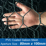 PVC Coated Gabion Mesh with Aperture Size 80mm X 100mm (HP-GABION0102)