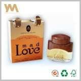 Gold Cardboard Paper Perfume Packing Box for Men with Belt