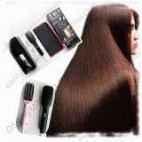 2016 Newest design 2 in 1 Ionic Steam Hair Straightener Comb