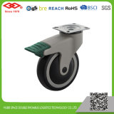 Swivel Plate with Brake Medical Caster (P503-34E100X32CS2)