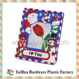 Christmas Soft PVC Photo Frame with Thph-016