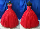 Red Classical and Georgous Princess Prom Dresses for Ball