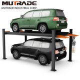 China Mutrade 3.6ton Four Post Car Lifting System with CE/ISO9001
