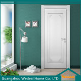Modern Hotel Single Flush Doors in White Color (WDHO67)