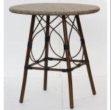 Wholesales Supplies Aluminum Textilene Cafe Dining Table (DT-08006)