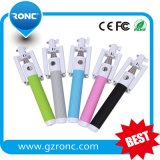 2015 New Type Mobile Accessories Wholesale Foldable Selfie Stick Bluetooth