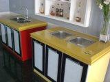 Yellow Quartz Countertops with Ogee Edge (SC-105)