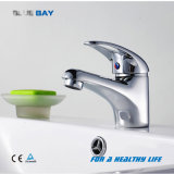 Polished Brass Bathroom Basin Faucet with Ce Approval