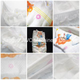 Super Absorbency Disposable Baby Diaper with Elastic Waistband