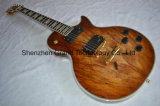 Lp Style Custom Natural Wood Electric Guitar