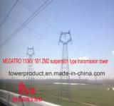 Megatro 110kv 1b1 Zm2 Suspension Type Transmission Tower